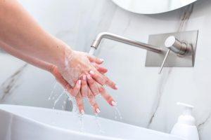 Coronavirus COVID-19 hand washing
